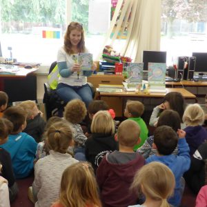 School Book Reading Author Visit