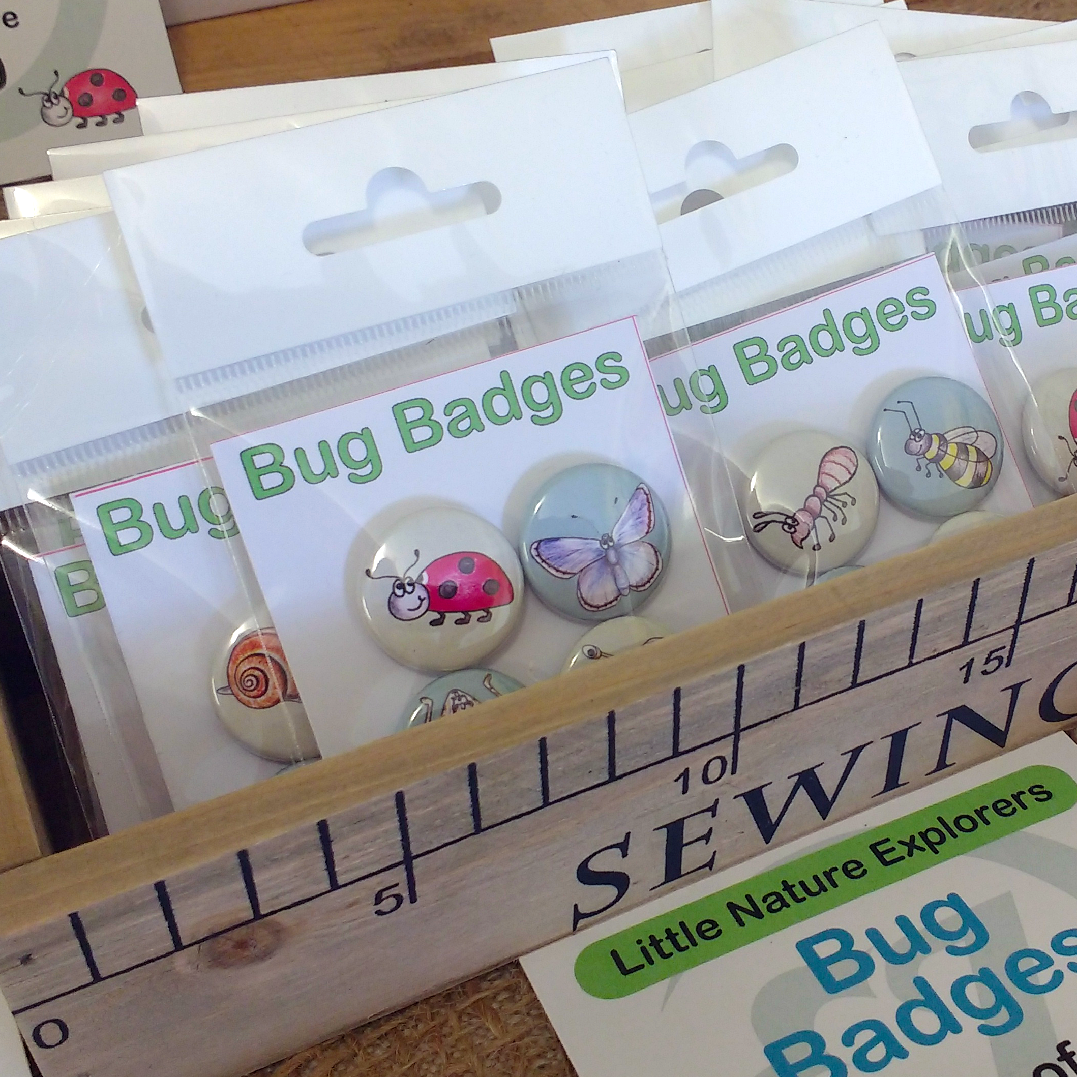 Bug badges
